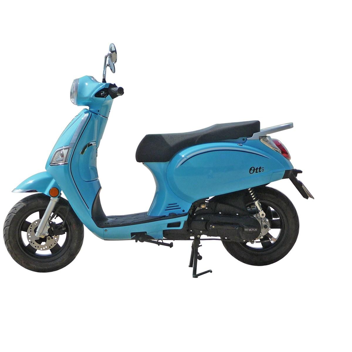 scooter tnt motor otto 2 temps 50cc 12 bleu caraman vert motoculture. Black Bedroom Furniture Sets. Home Design Ideas
